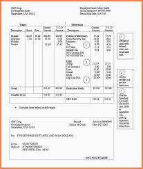3 sample of pay stub template free samples of paystubs