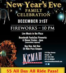 new year s celebrations live coupon for kemah boardwalk new years family celebration