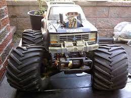 vintage kyosho usa 1 big boss electric rc monster truck 4x4 thorp