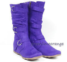 womens boots purple purple boots for ebay