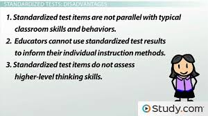 standardized tests in education advantages and disadvantages