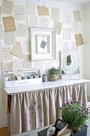 Shabby Chic Craft Room by Cool Decoupage Glue Trend Chicago Shabby Chic Home Office