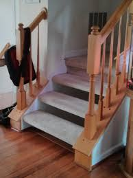 baby gate solution for the awkward banisters u0026 floating stairs