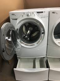 set washer and dryer whirlpool duet steam dryer for sale in