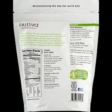 nutiva chia seed white 12 0 oz walmart com