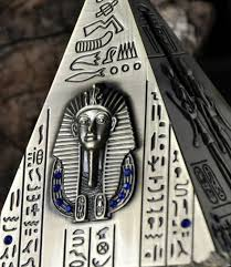 ancient pyramid piggy bank money box hucha saving coin cent