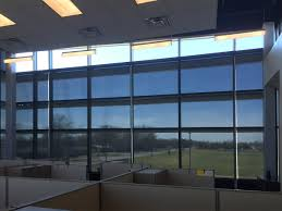 solar shades take the glare out of large windows