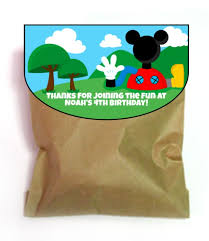 mickey mouse favor bags top 10 mickey mouse birthday party ideas for