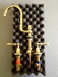 Unlacquered Brass Faucet Waterworks by Velvet U0026 Linen Building Patina Farm