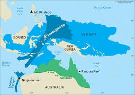 Asia Pacific Map by Western Pacific Warm Pool Cartogis Services Maps Online Anu