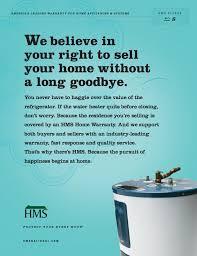real estate home warranty plan solutions hms national inc