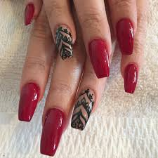 25 best ideas about red black nails on pinterest red nail art 29