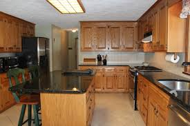 kitchens with black appliances and oak cabinets 7 joseph road hopkinton ma 01748 dark counters dark granite and