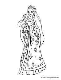 Coloriage De Princesses Coloriage Barbie Color 2703