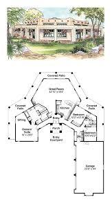 center courtyard house plans apartments adobe home plans southwest plans architectural