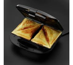 Bread Shaped Toaster Buy Russell Hobbs 2 Portion Non Stick Sandwich Toaster 17936 At