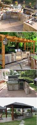 backyard kitchen ideas cook outside this summer 11 inspiring outdoor kitchens clever