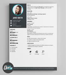 modern resume layout 2014 resume cv cover letter sle resume format for fresh graduates