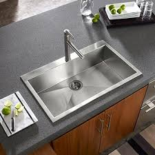 Small Kitchen Sinks Stainless Steel by Houzer Stainless Steel Zero U0026 Small Radius Kitchen Sinks