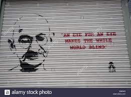 An Eye For An Eye Will Make The World Blind Quote From Gandhi U0027an Eye For An Eye Makes The Whole World Blind
