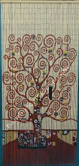 Bamboo Door Curtains Beaded Door Curtains Wall Hanging Room Divider Tree Of