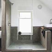 minimalist concete shower room modern shower room ideas bathroom