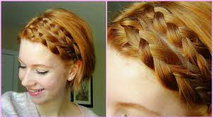 step by step braid short hair double dutch braid hair tutorial short hair youtube