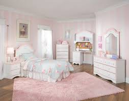 bedroom cute room ideas with white bedroom furniture set and pink