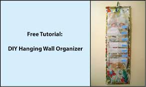 Wall Hanging Mail Organizer Tutorial Diy Hanging Fabric Wall Organizer Youtube