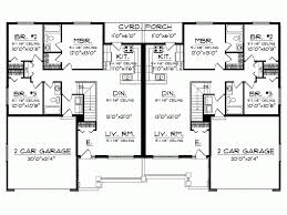 easy house plans eplans ranch house plan easy to build duplex 2514 square feet