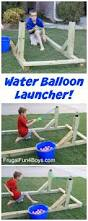 build a water balloon launcher that the whole family will love