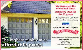 Price Overhead Door Hamilton Spectator Business Directory Coupons Restaurants
