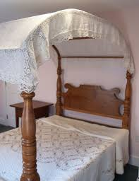 antique canopy bed american canopy bed white bed
