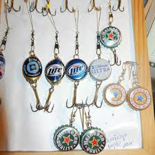 home made earrings best great gifts for your fishing lures and