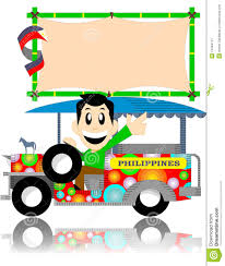 jeepney philippines art filipino jeep with sign board stock image image 13484741