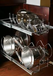 Under Cabinet Pot Rack drop downs pullouts and sliders every old cupboard u0027s dream