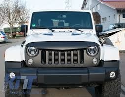 jeep wrangler front grill central front grille jeep wrangler rubicon jk 2007 2017 angry