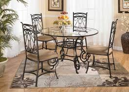 dining chair black wrought iron dining chairs notable