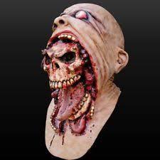 Zombie Mask Zombie Mask Ebay