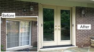 fiberglass sliding glass doors replace sliding glass patio door with provia heritage fiberglass