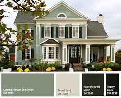 ideas for exterior paint colors for house