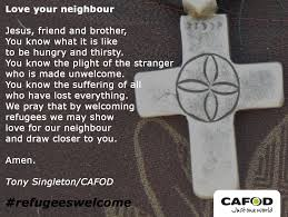 beautiful thanksgiving prayer on your own cafod