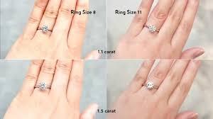 wedding rings size 11 jannpaul education basic 4cs of diamonds carat weight