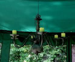 outdoor gazebo chandelier lighting make an outdoor gazebo candle chandelier low cost too outdoor