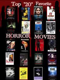 my dialy horror movie