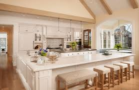 classic kitchen design with awesome built in seating kitchen