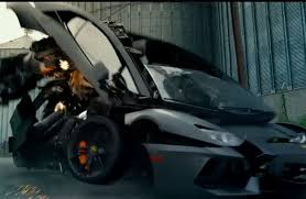 ferrari transformer lamborghini aventador in transformers 4 age of extinction trailer