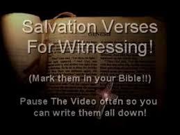 salvation bible verses book john