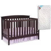 Walmart Convertible Cribs Delta Children Gateway 4 In 1 Convertible Crib Chocolate