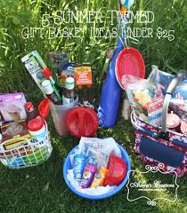 themed gift basket five summer themed gift basket ideas for bunco wedding gift or